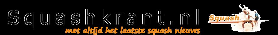 Squashkrant.nl - met altijd het laatste squash nieuws